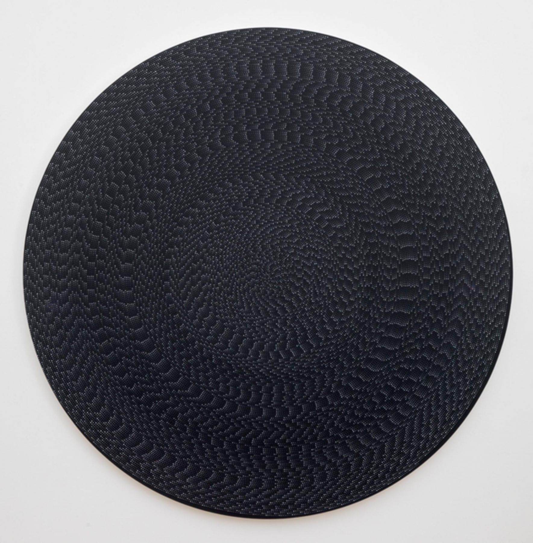 , MICHELLE GRABNER, Untitled, 2013 Flashe on canvas Diameter: 80 in.