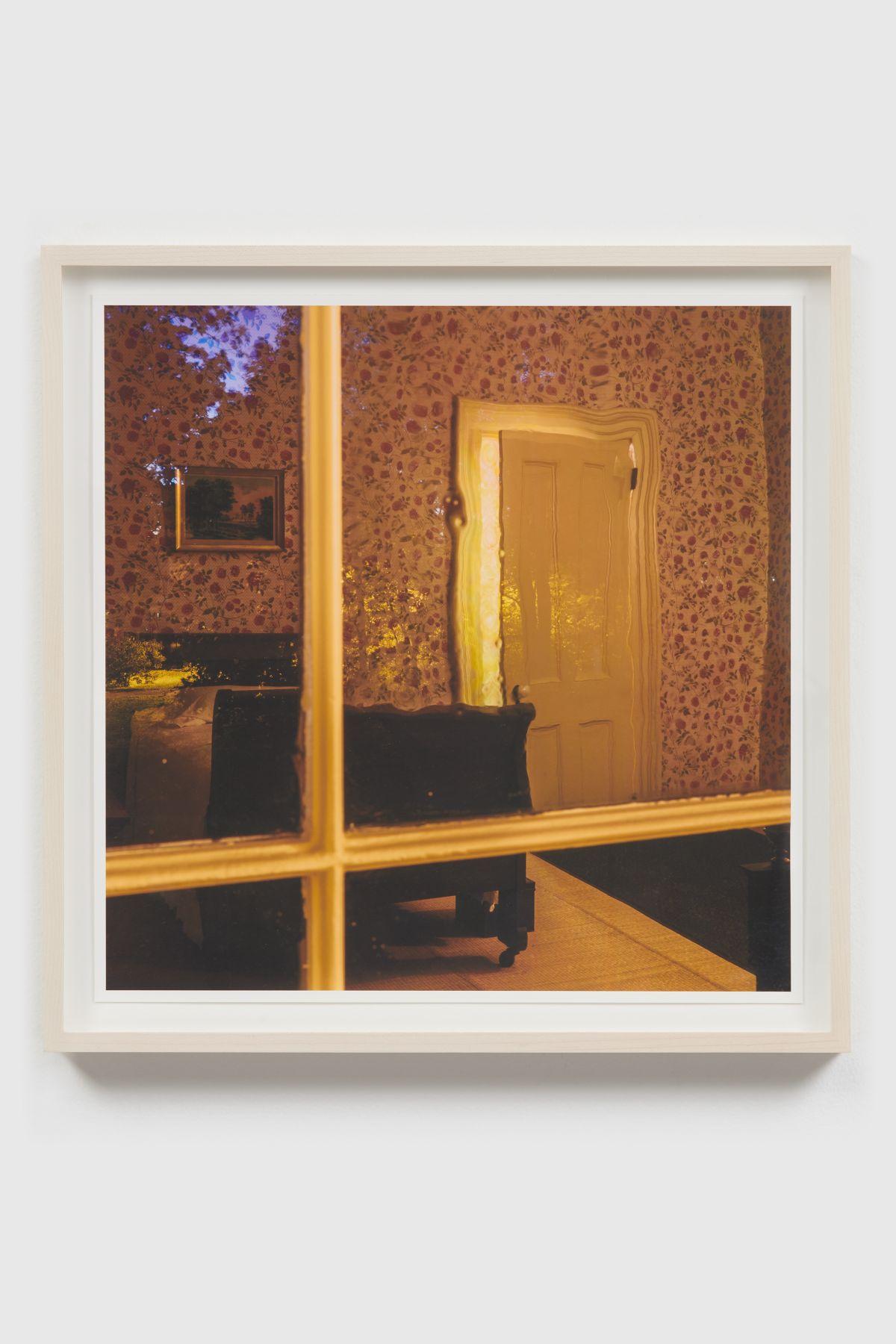 SPENCER FINCH, The Outer - from the Inner (Emily Dickinson's bedroom, dusk)