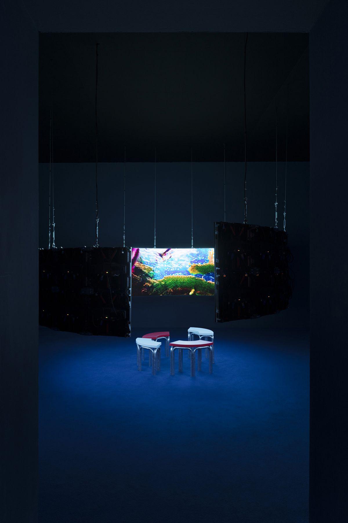 Hito Steyerl, Leonardo's Submarine, 2019