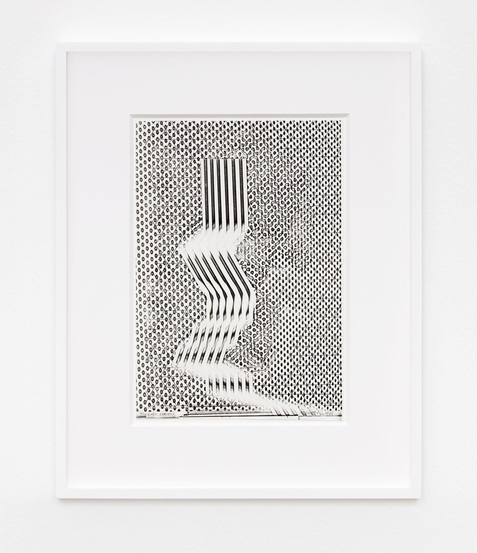 Bruno Munari Xerografia Originale, 1968