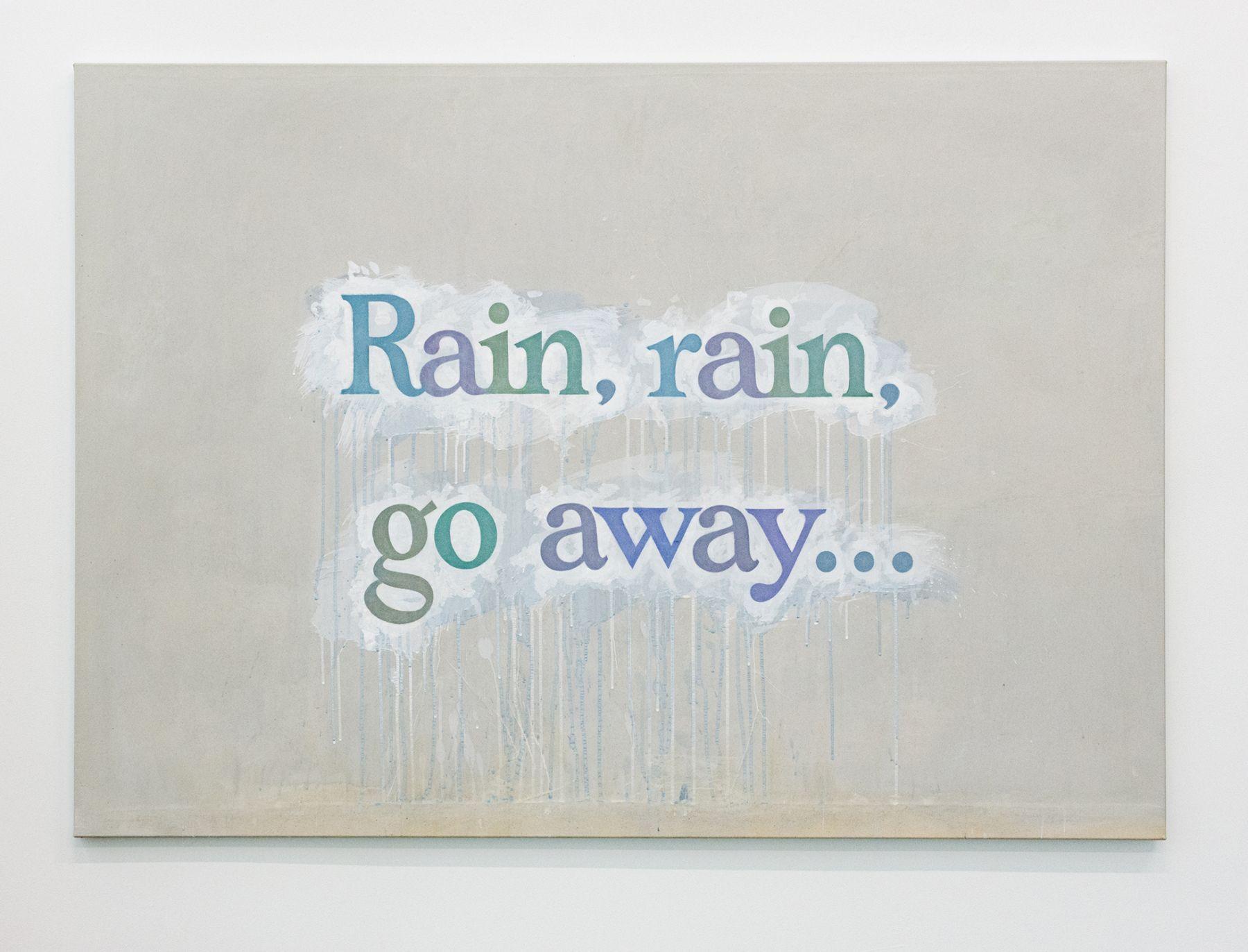 Ricci Albenda Rain, rain, go away..., 2018