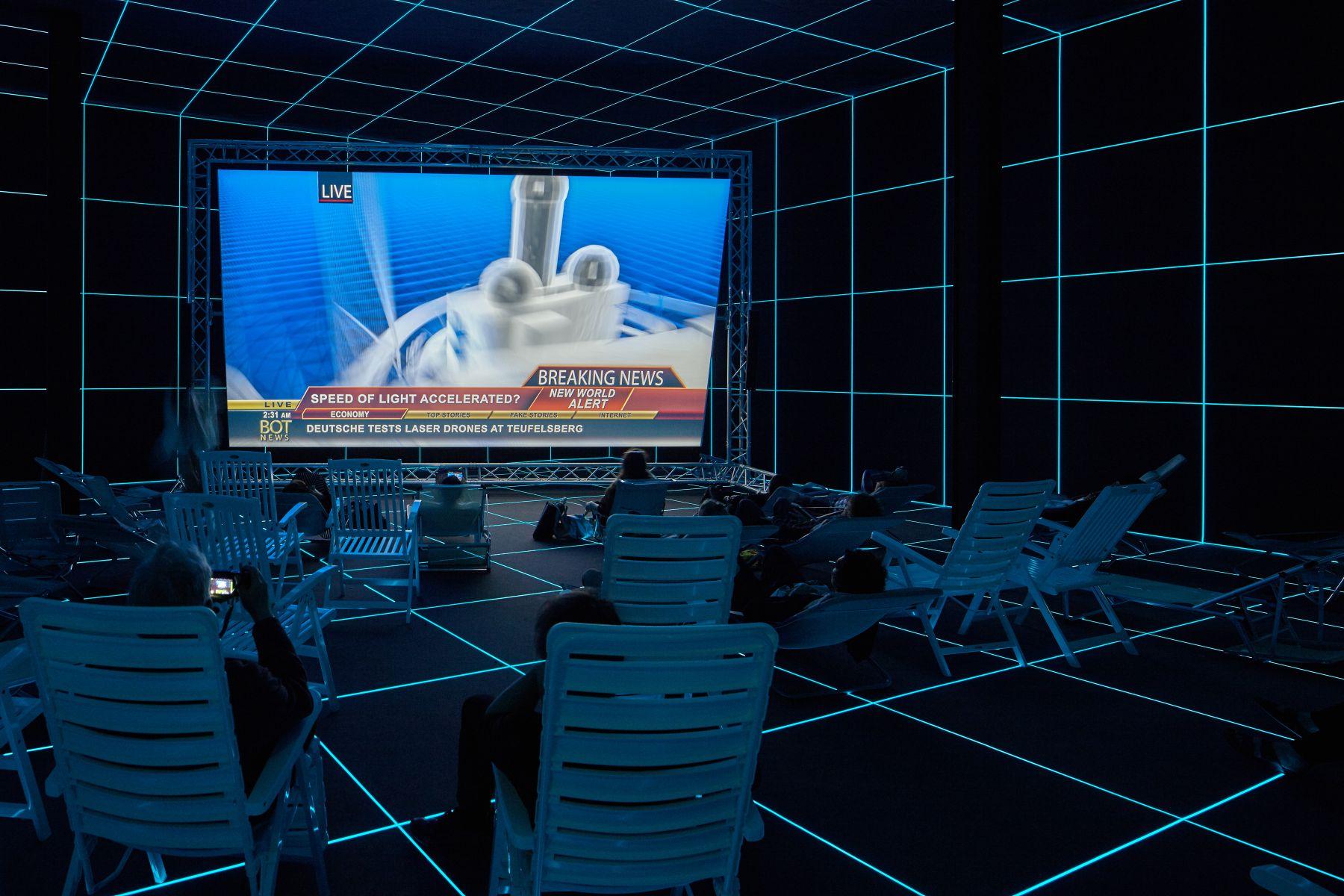 Fabrik, German Pavillion, 56th Venice Biennale, Venice, May 9 - November 22, 2015