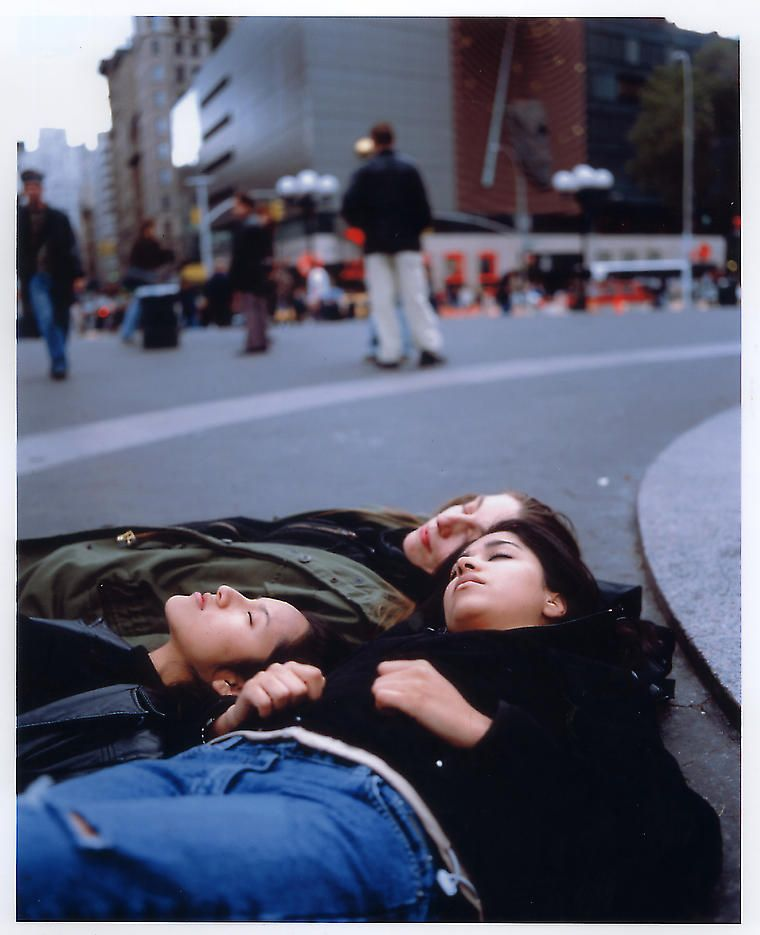 Die-In 2002 Digital C-print, Ed. of 6