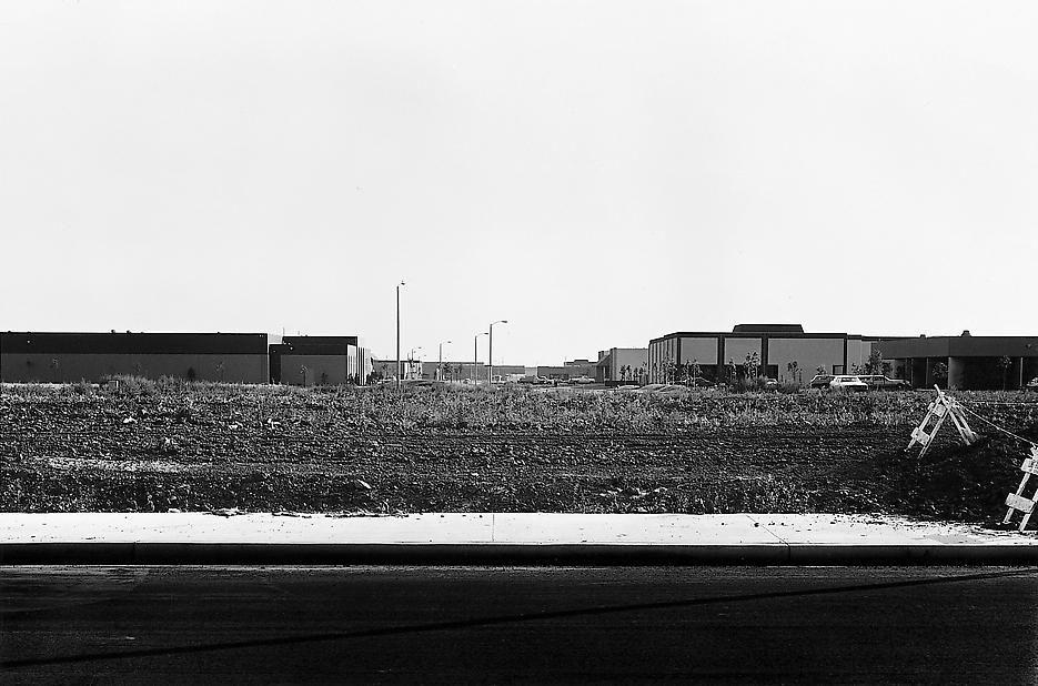 Lewis Baltz NIP #33: Barranca Road, between Von Karmaan and Milliken Roads, looking Southwest