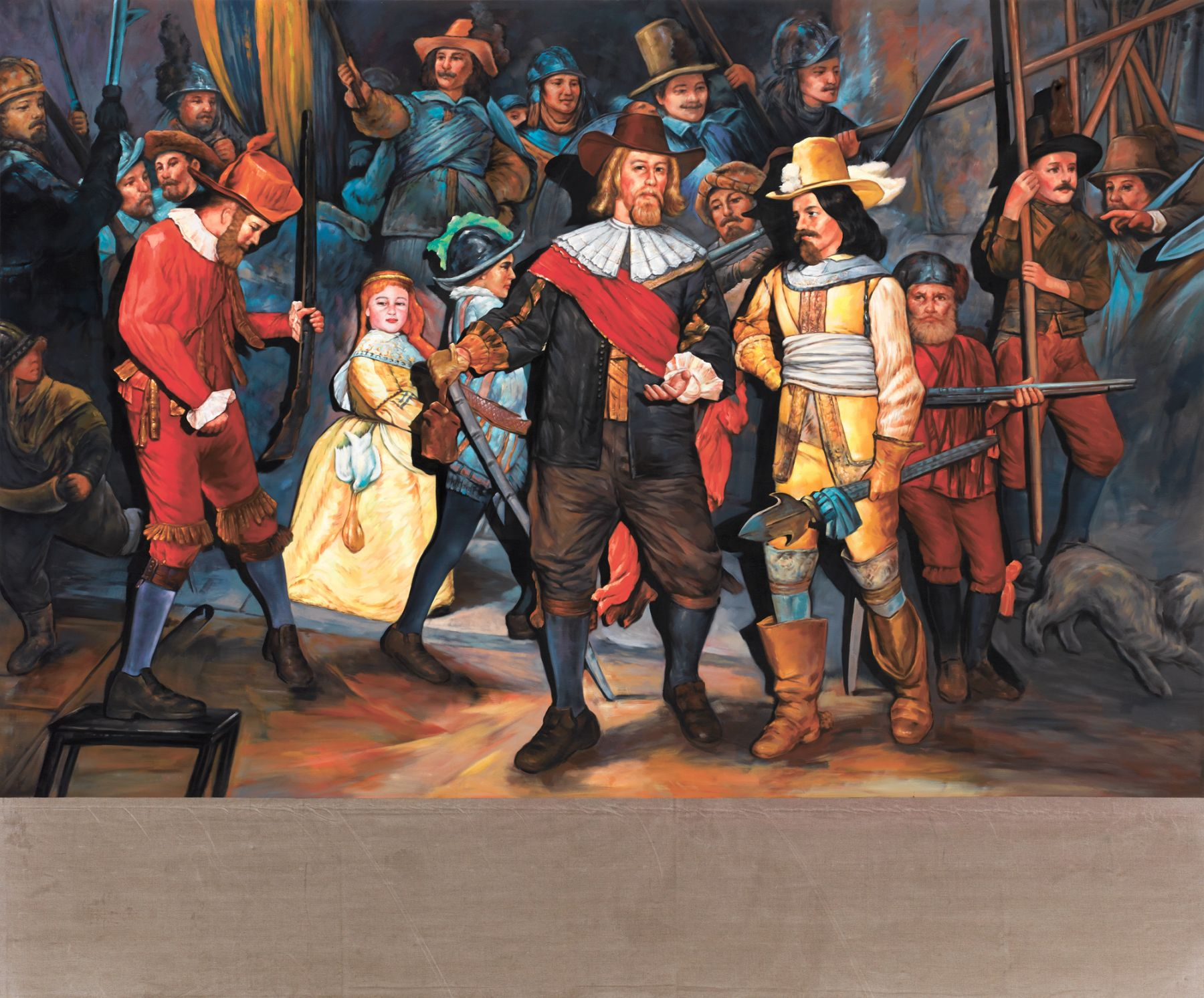 Christian Jankowski, Neue Malerei - Rembrandt II