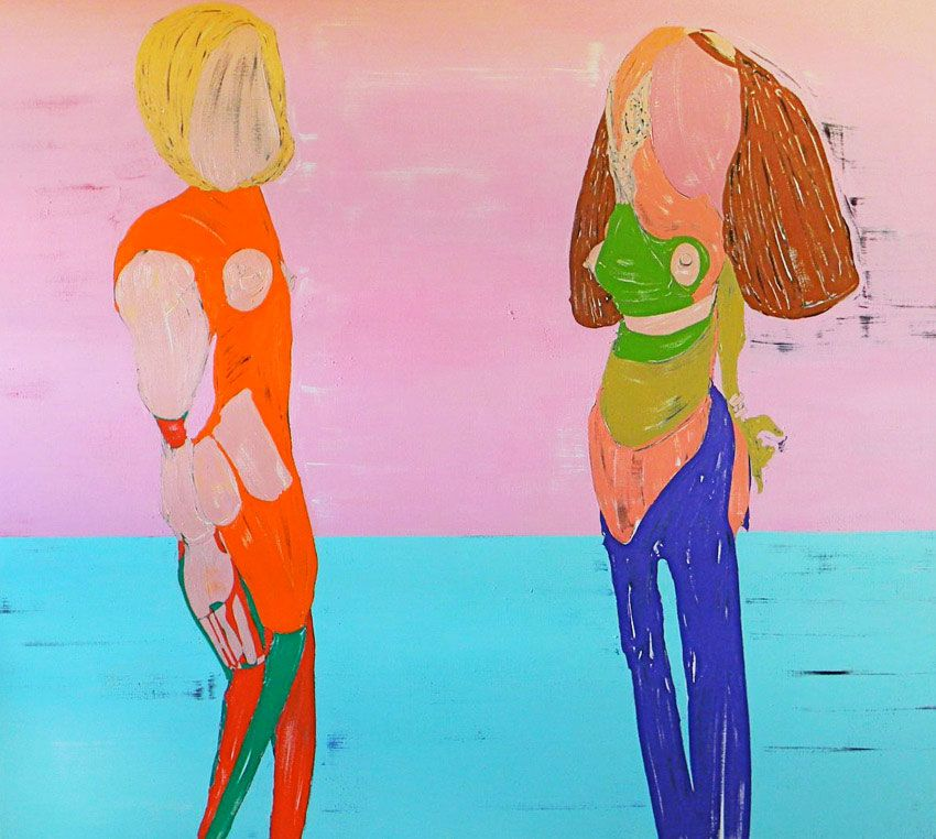 Couple 2011 Oil on canvas