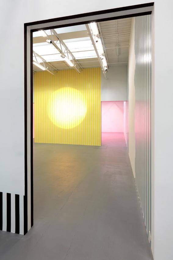 Daniel Buren Installation view 1