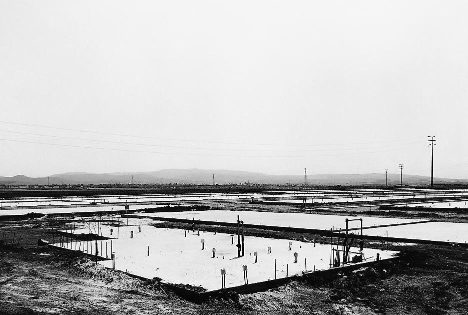Lewis Baltz NIP #14: Foundation Construction, Many Warehouses, 2892 Kelvin, Irvine
