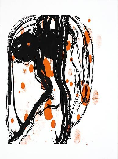 Untitled 2007 Silkscreen on acrylic paint on paper