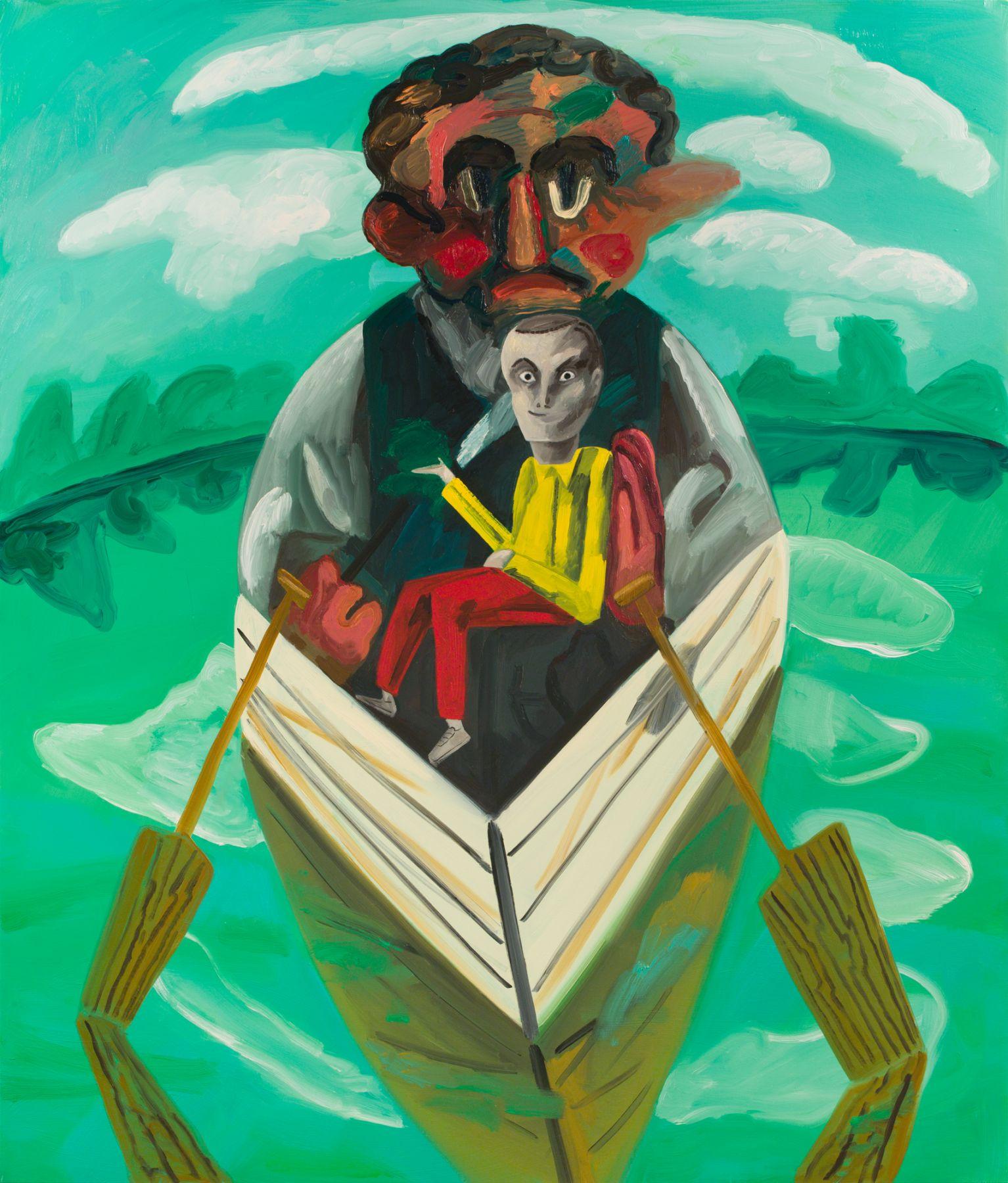 Dana Schutz, Boatman