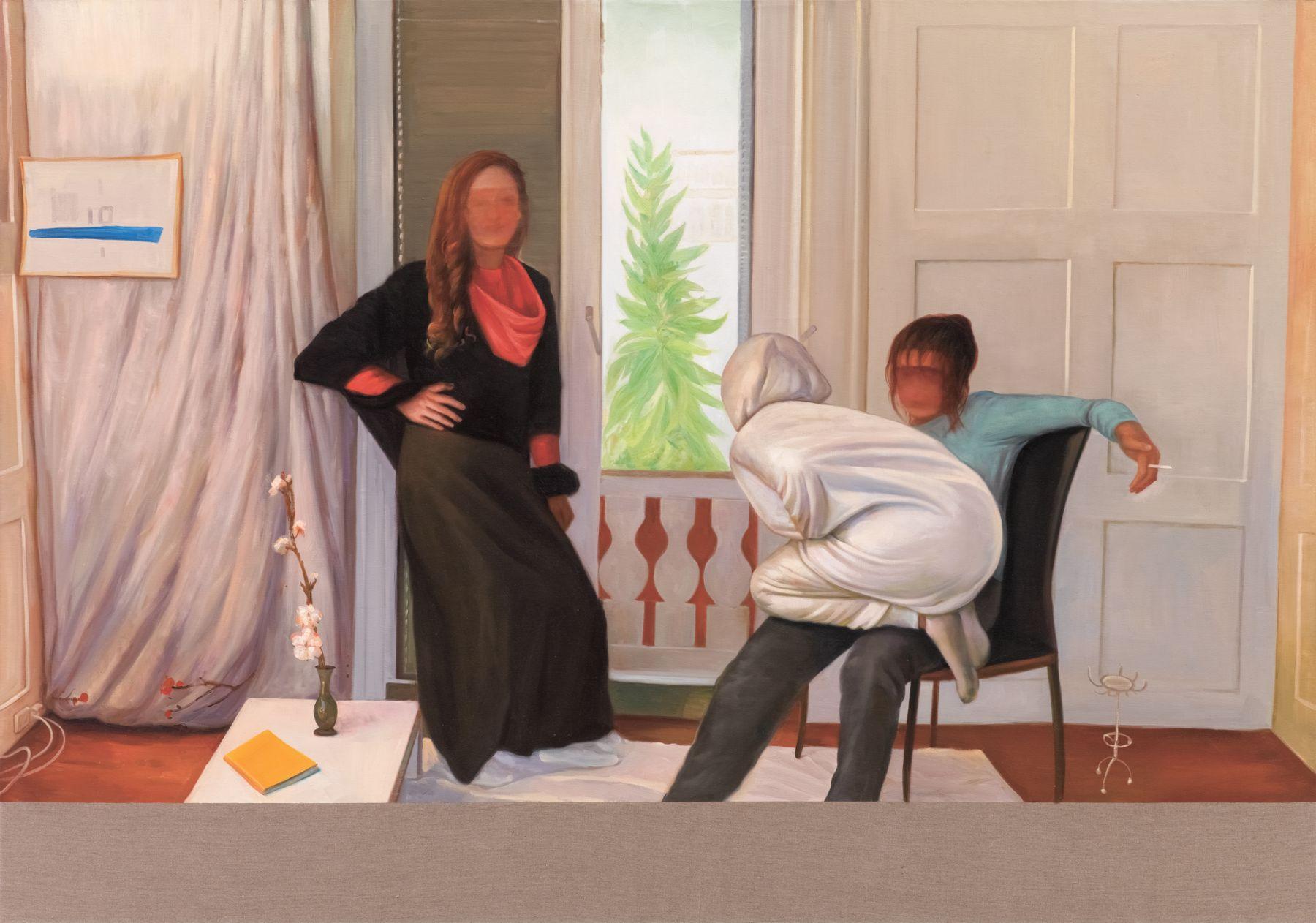 Christian Jankowski, Neue Malerei - Hockney
