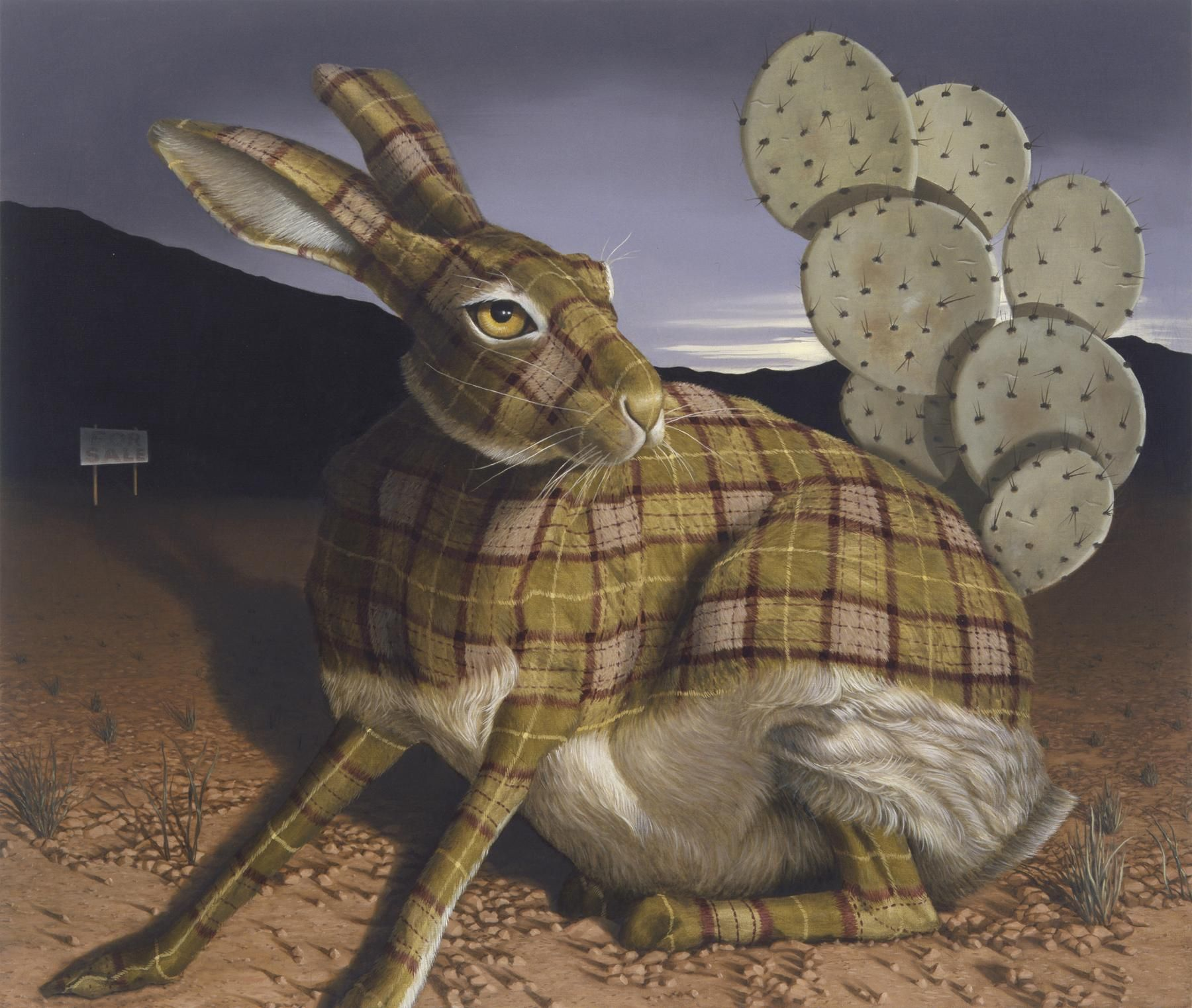 Sean Landers The Promiscuity of Art (Hare)