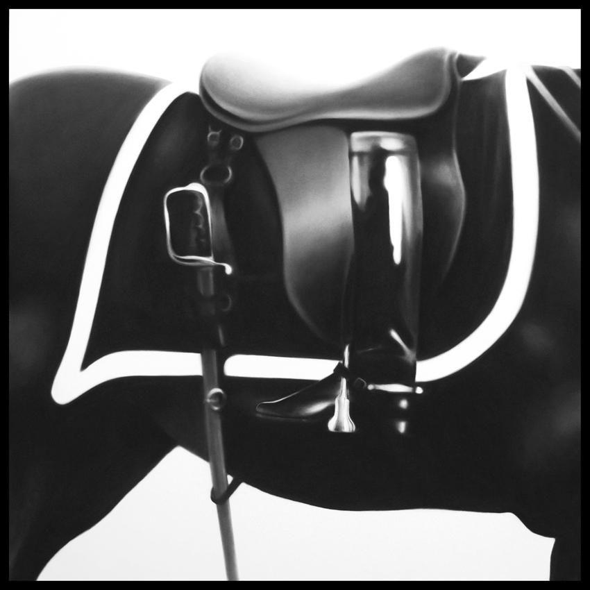 Untitled (Black Jack Boot)