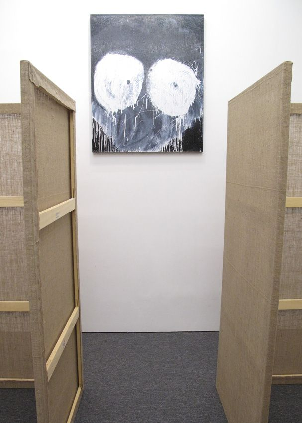 Installation view Interim in Three Rounds