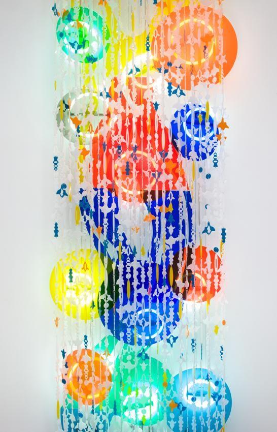Jorge Pardo Untitled (detail)