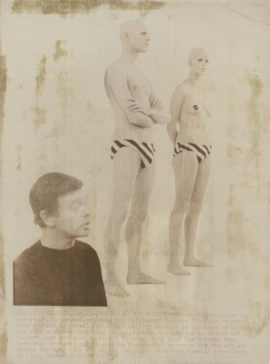 Rudi Gernreich Designs for Unisex Bathing Suits