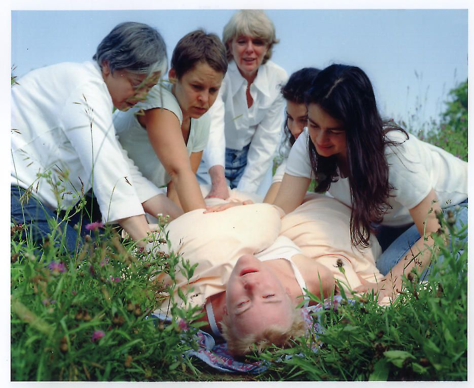 Rebirthing 2002 Digital C-print, Ed. of 6