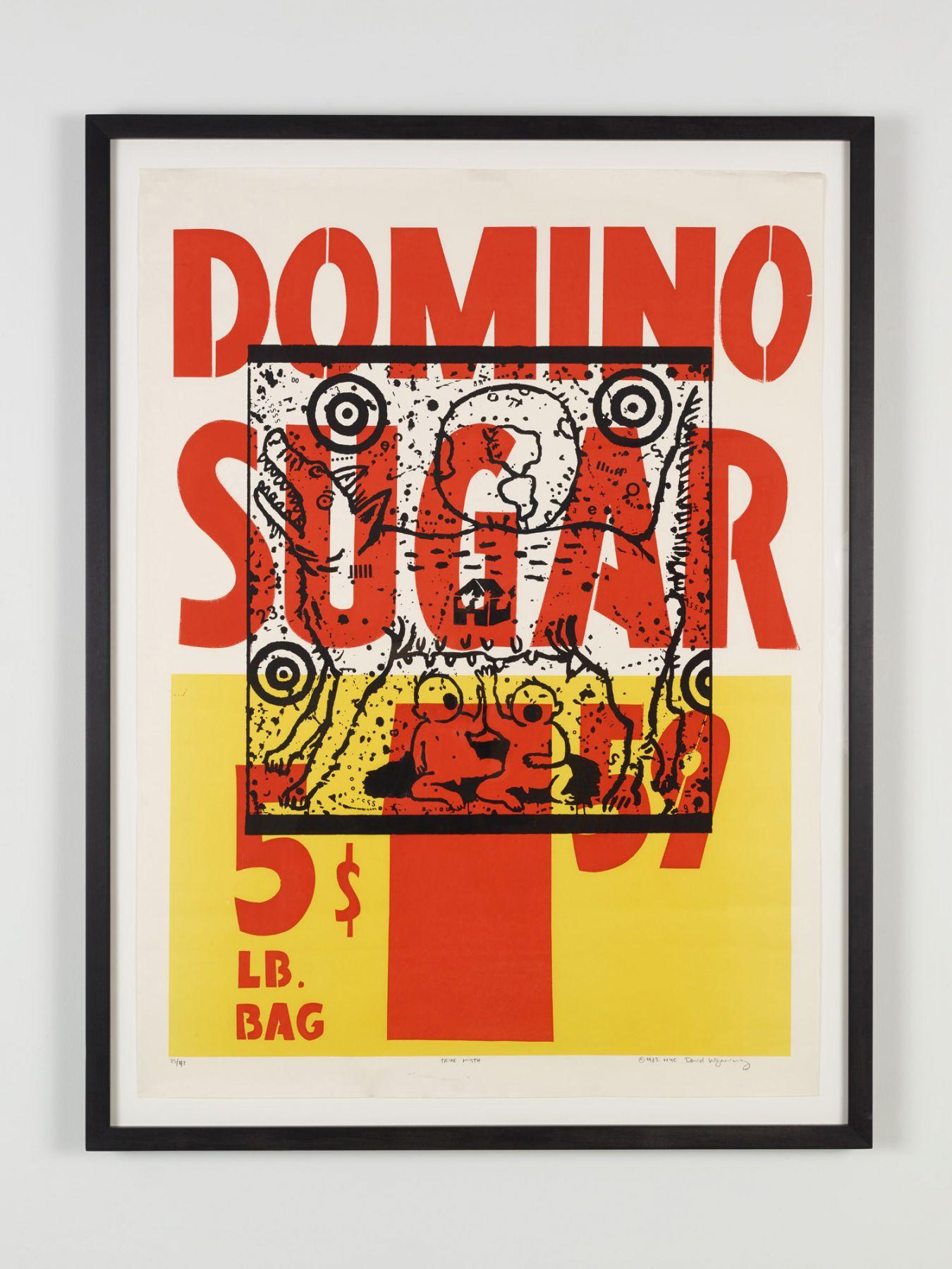 David Wojnarowicz, True Myth (Domino Sugar)