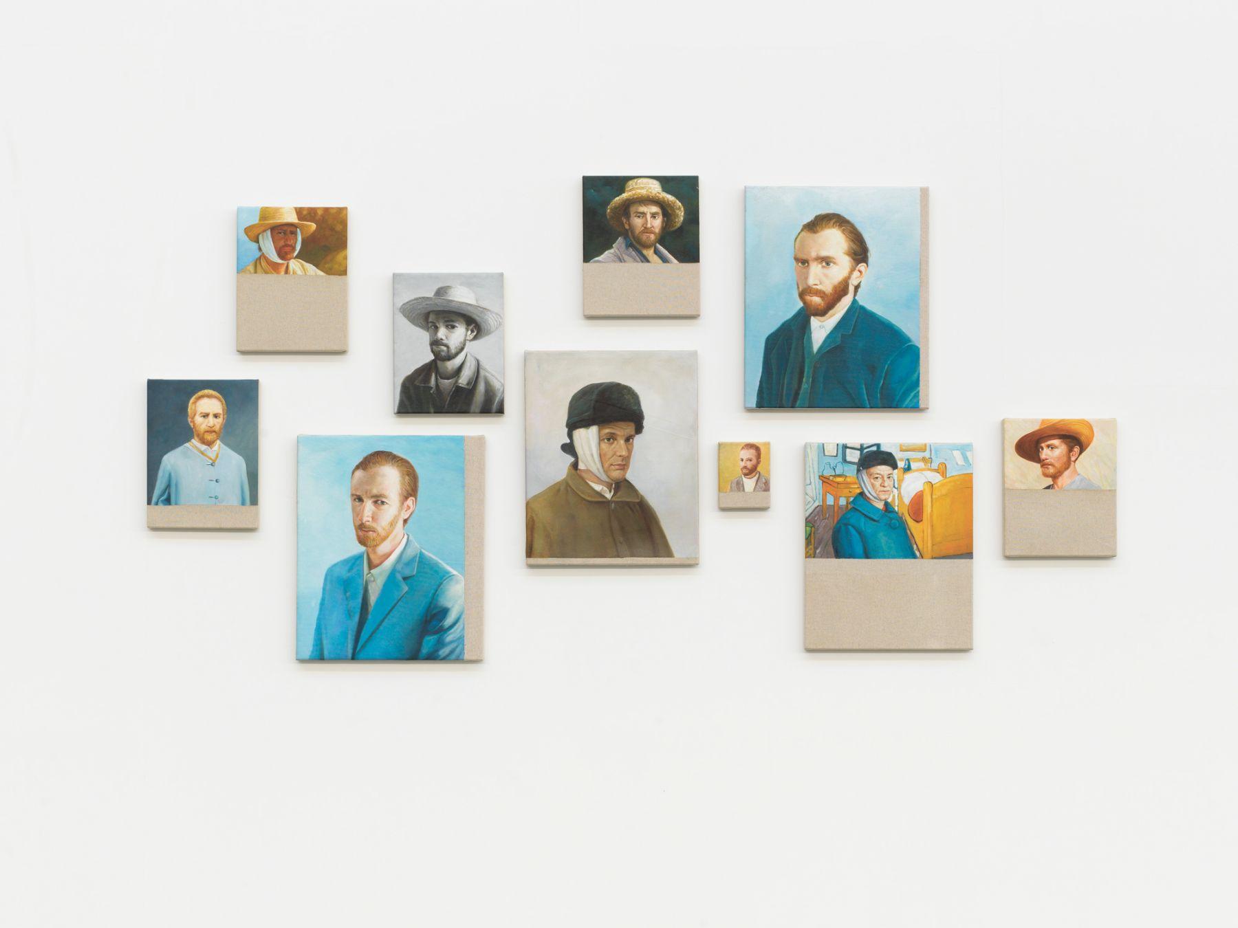 Christian Jankowski, Neue Malerei - Van Gogh