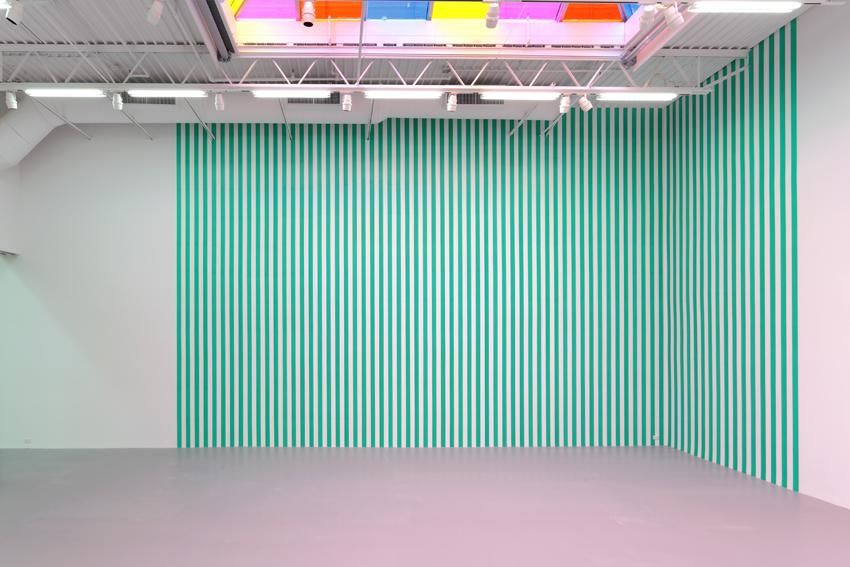 "Displacement, Work In Situ 2013 (Ref. The Corner Piece First Completed for ""Prospect 68"" Kunsthalle Düsseldorf 1968)"