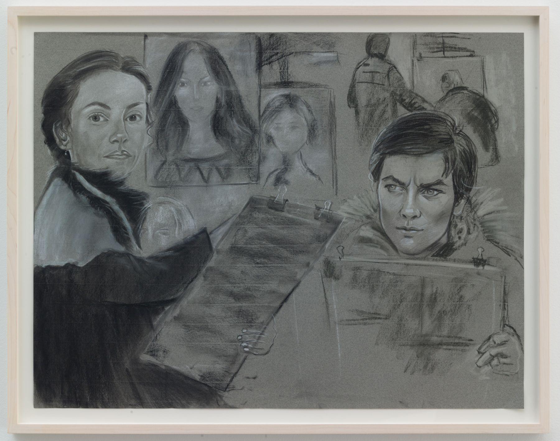 Christian Jankowski, Isabelle Huppert - Alain Delon