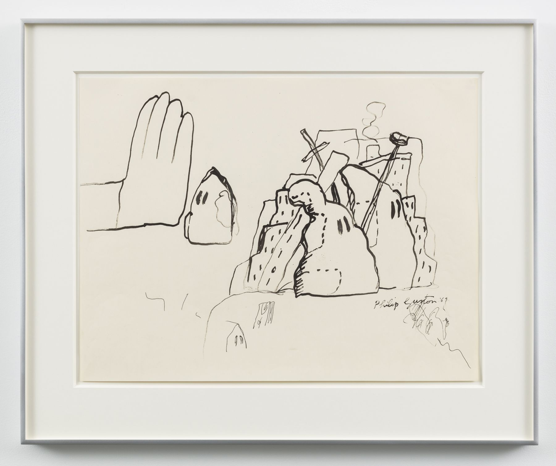Philip Guston, Untitled