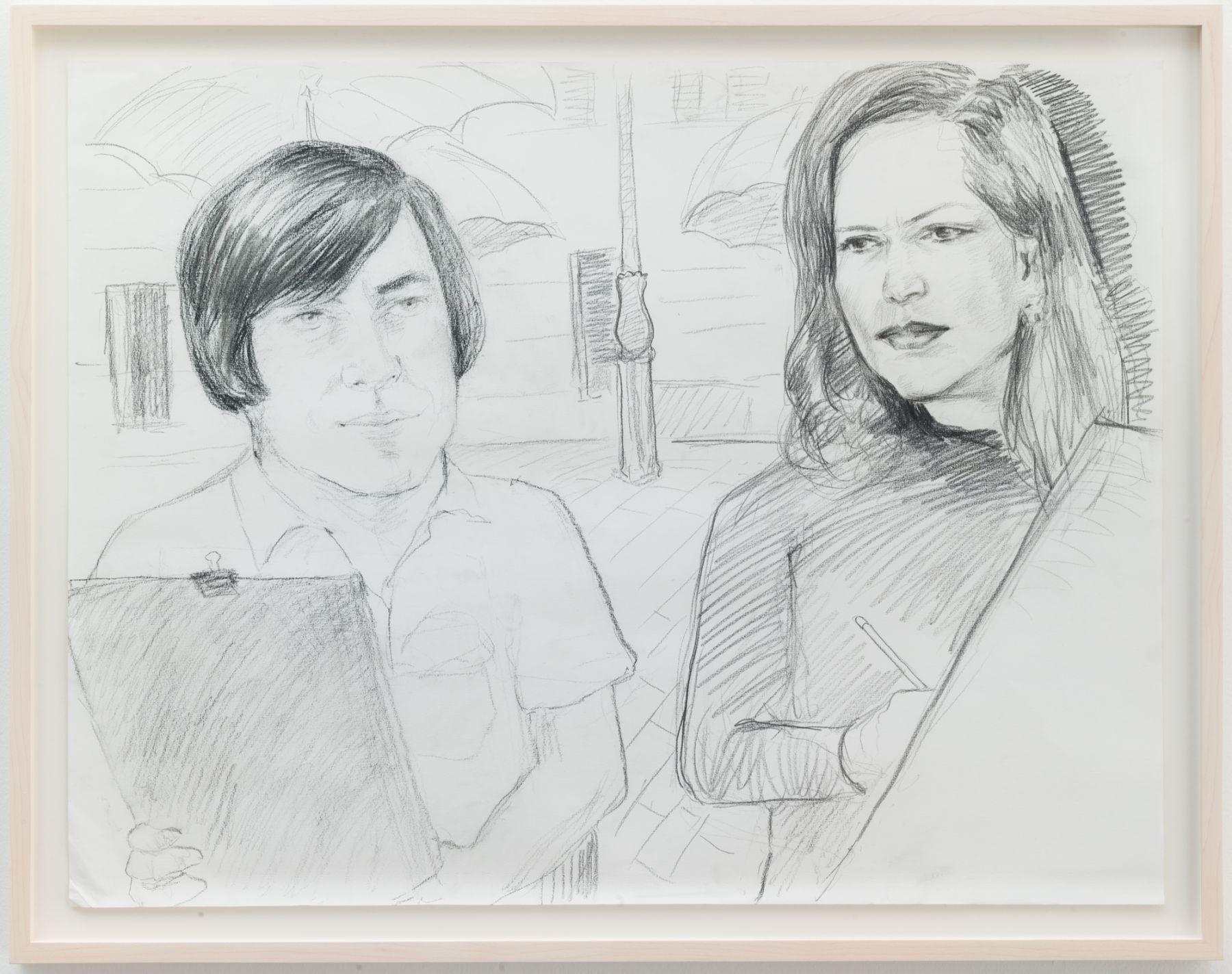 Christian Jankowski, Isabelle Huppert - Javier Bardem