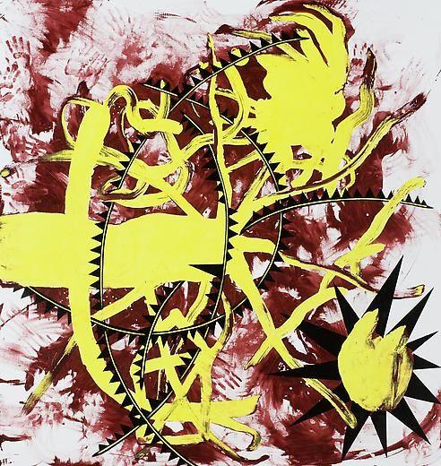 Alastor 2008 Acrylic on linen