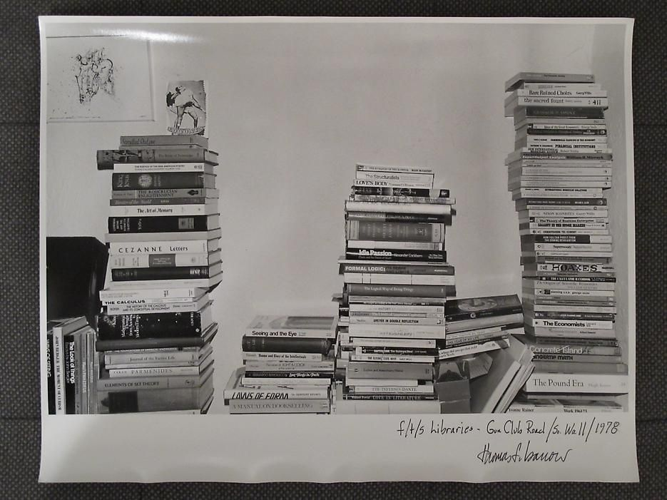 Thomas Barrow F/T/S Libraries - Gun Club Road - So.Wall