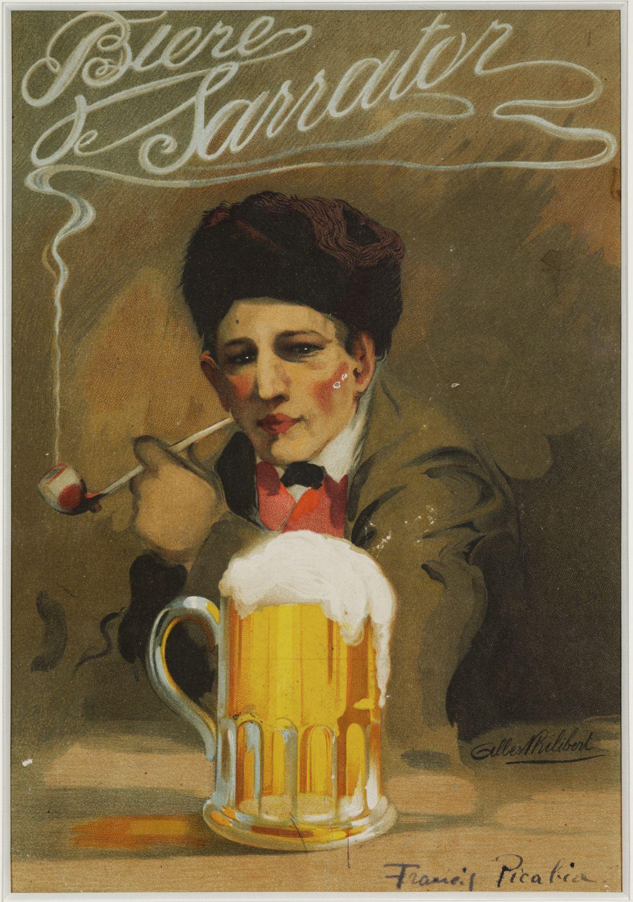 Francis Picabia, Bière Sarrator