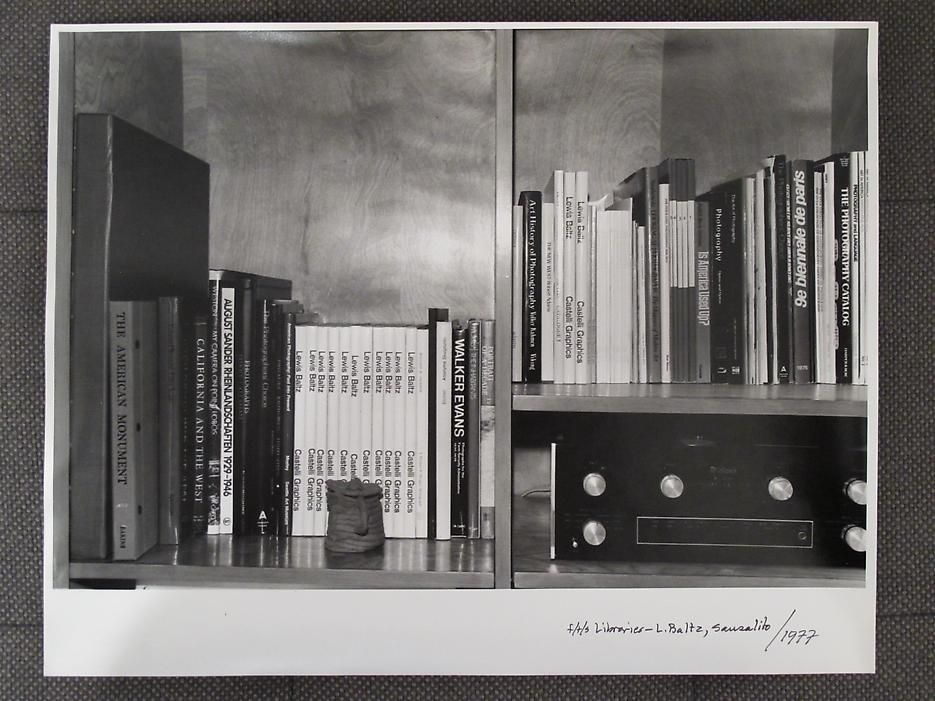 Thomas Barrow F/T/S Libraries - L. Baltz, Sausalito