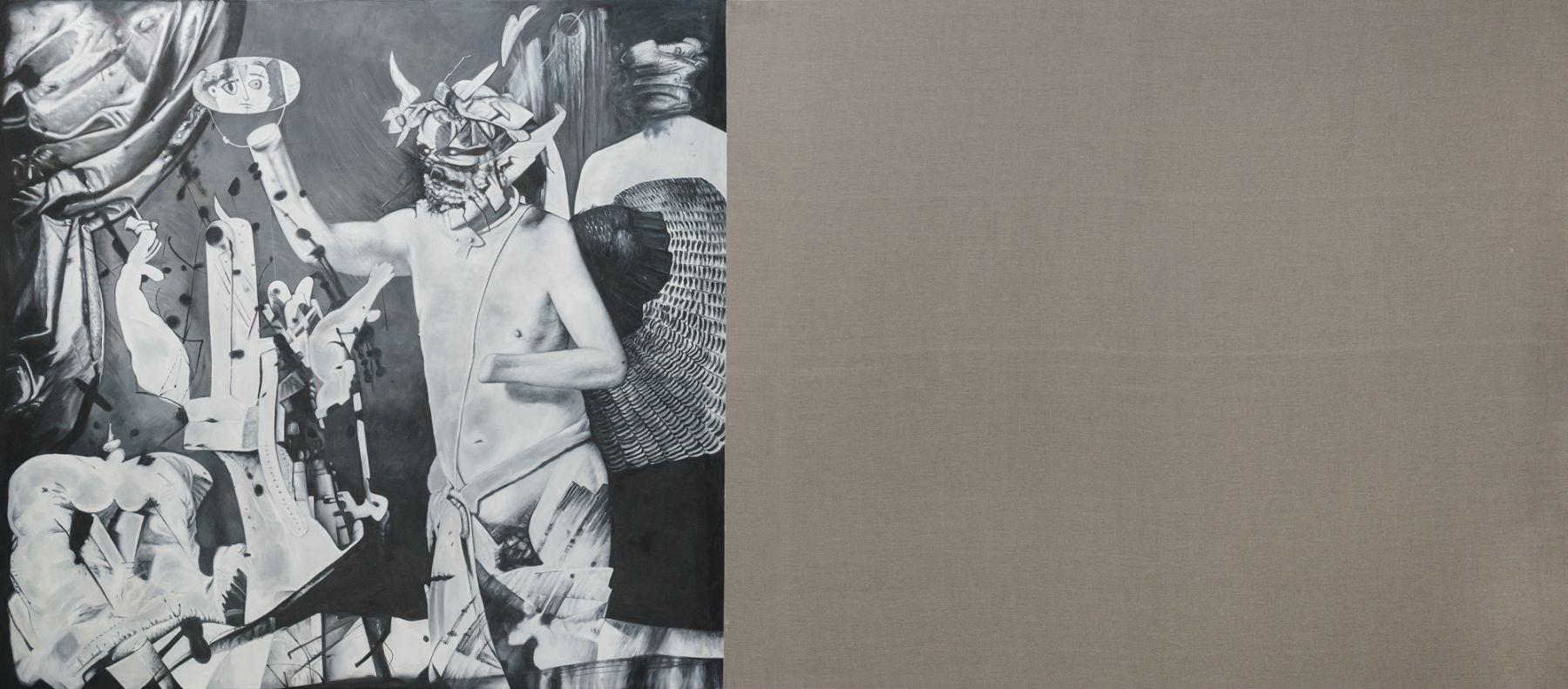 Christian Jankowski, Neue Malerei - Picasso I