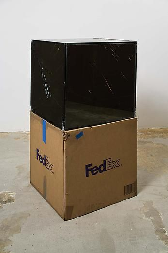 FedEx® Large Kraft Box ©2005 FEDEX 330508 REV 10/05 SSCC, International Priority, Los Angeles-Tijuana trk#865282057997, October 29 - November 6, 2008, International Priority, Tijuana-Los Angeles trk#867279774918, January 2 - 6, 2009,