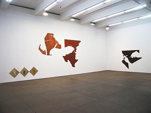 Seth Price Installation view