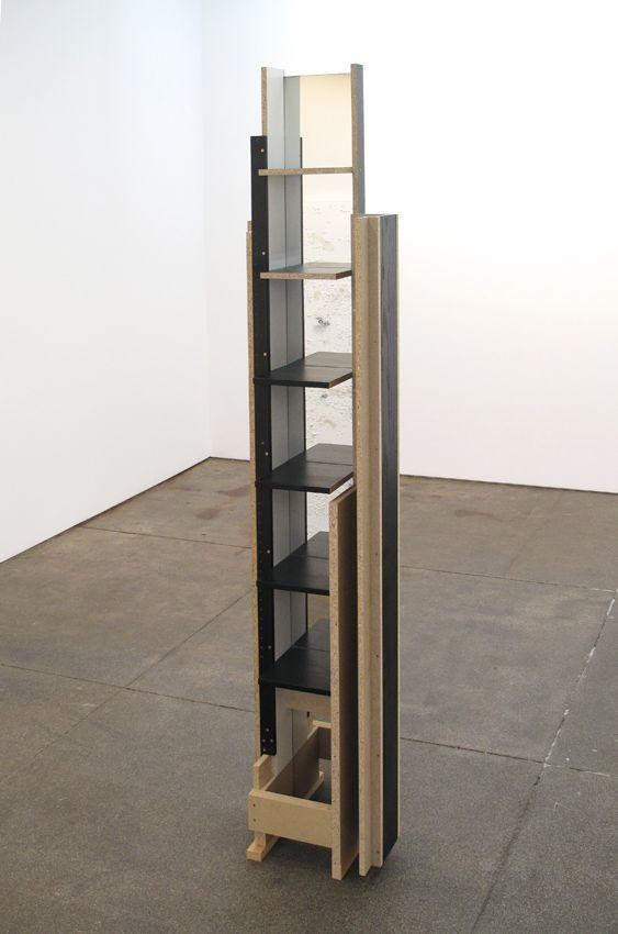 Untitled 2010 Chipboard, wood, Plexiglas mirror