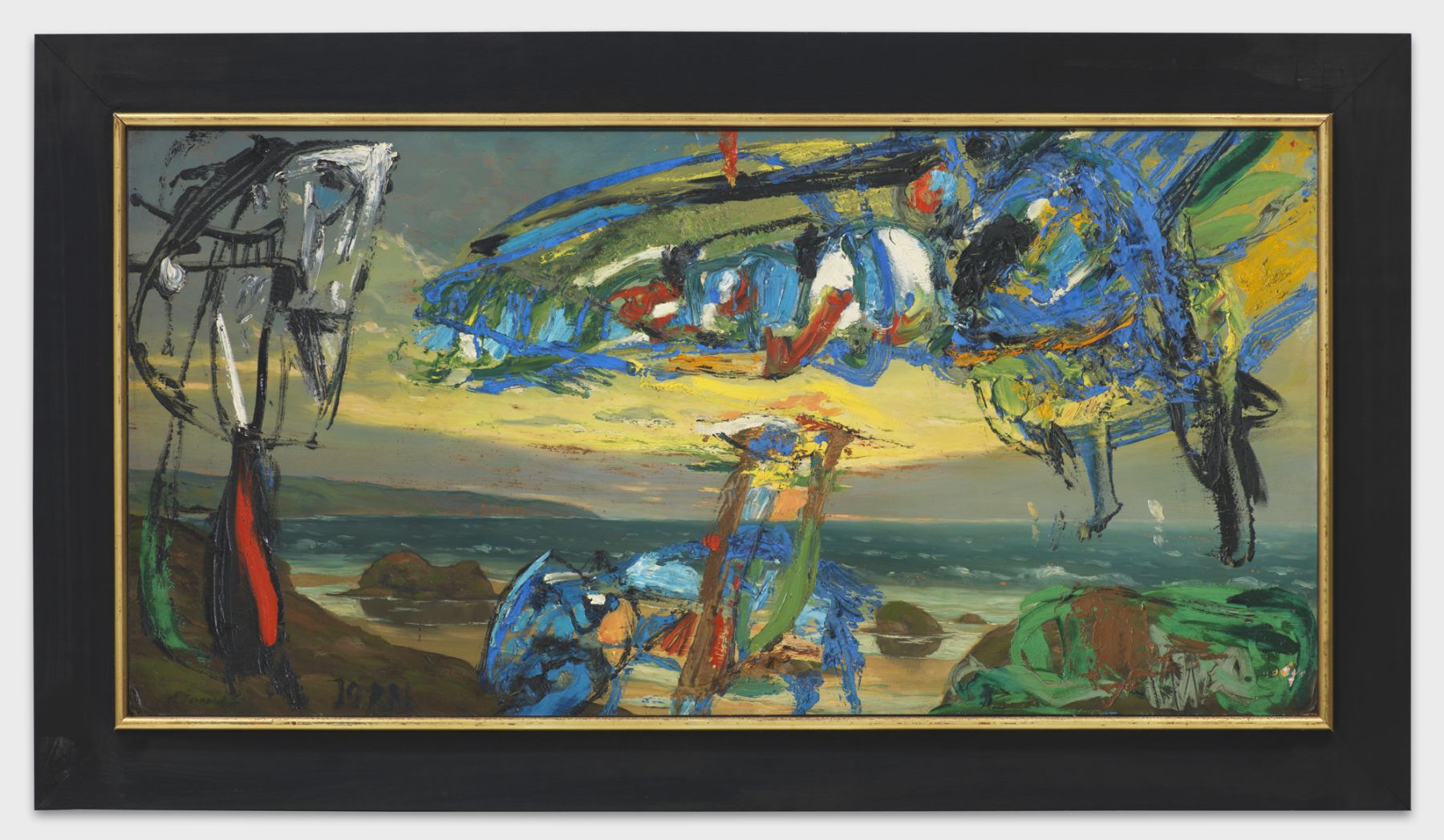 Asger Jorn, Le Hollandais Volant (Modification) -The Flying Dutchman