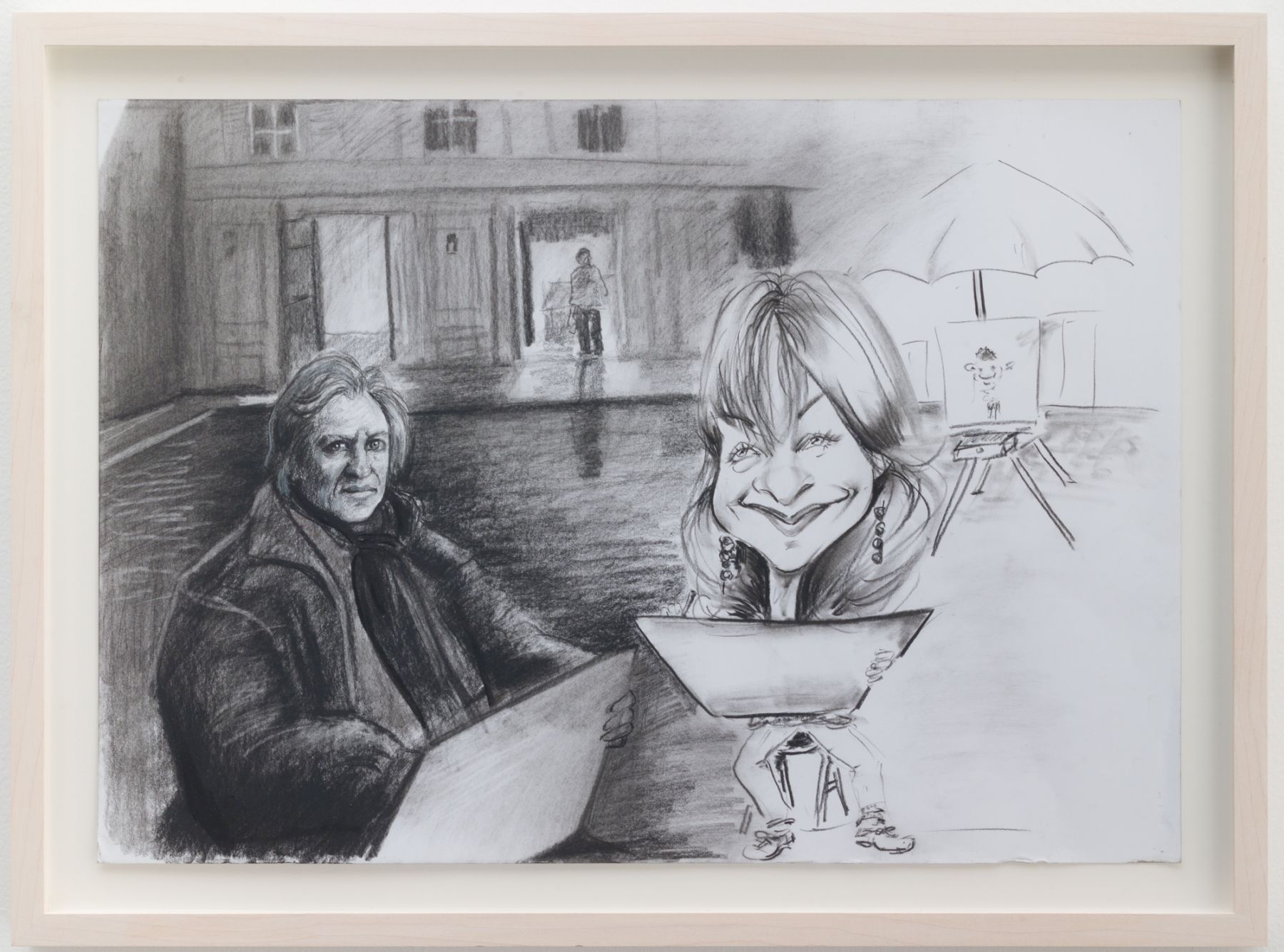 Christian Jankowski, Isabelle Huppert - Gérard Depardieu