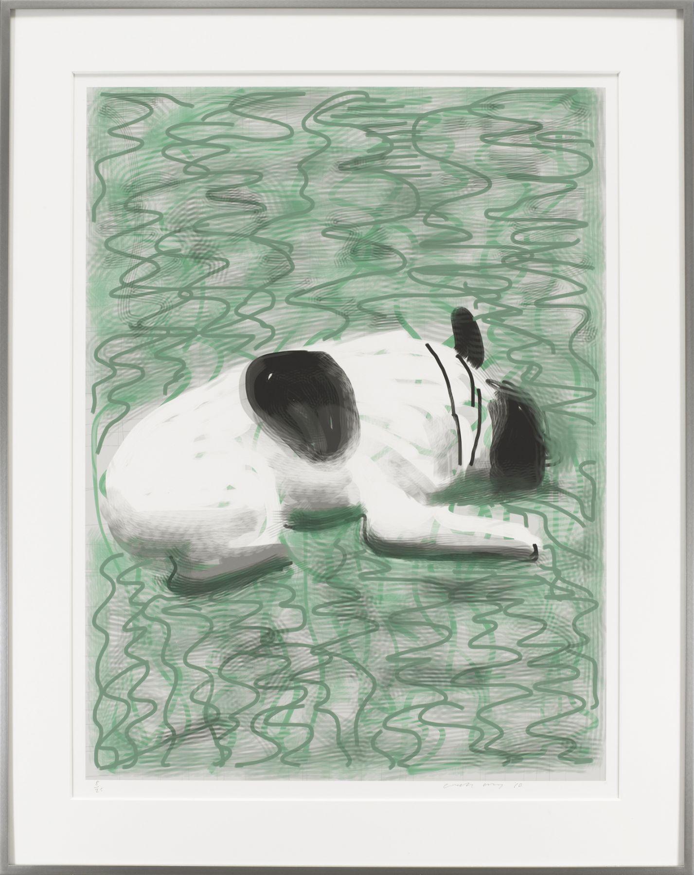 David Hockney, Moujik