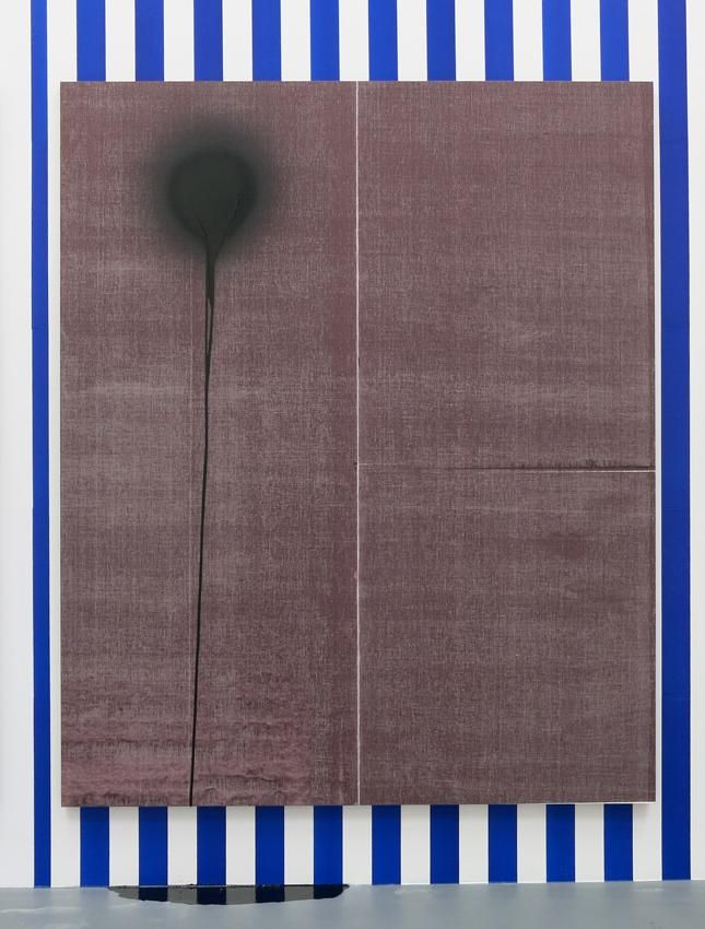 Wade Guyton, Untitled 2013, Epson UltraChrome inkjet on linen