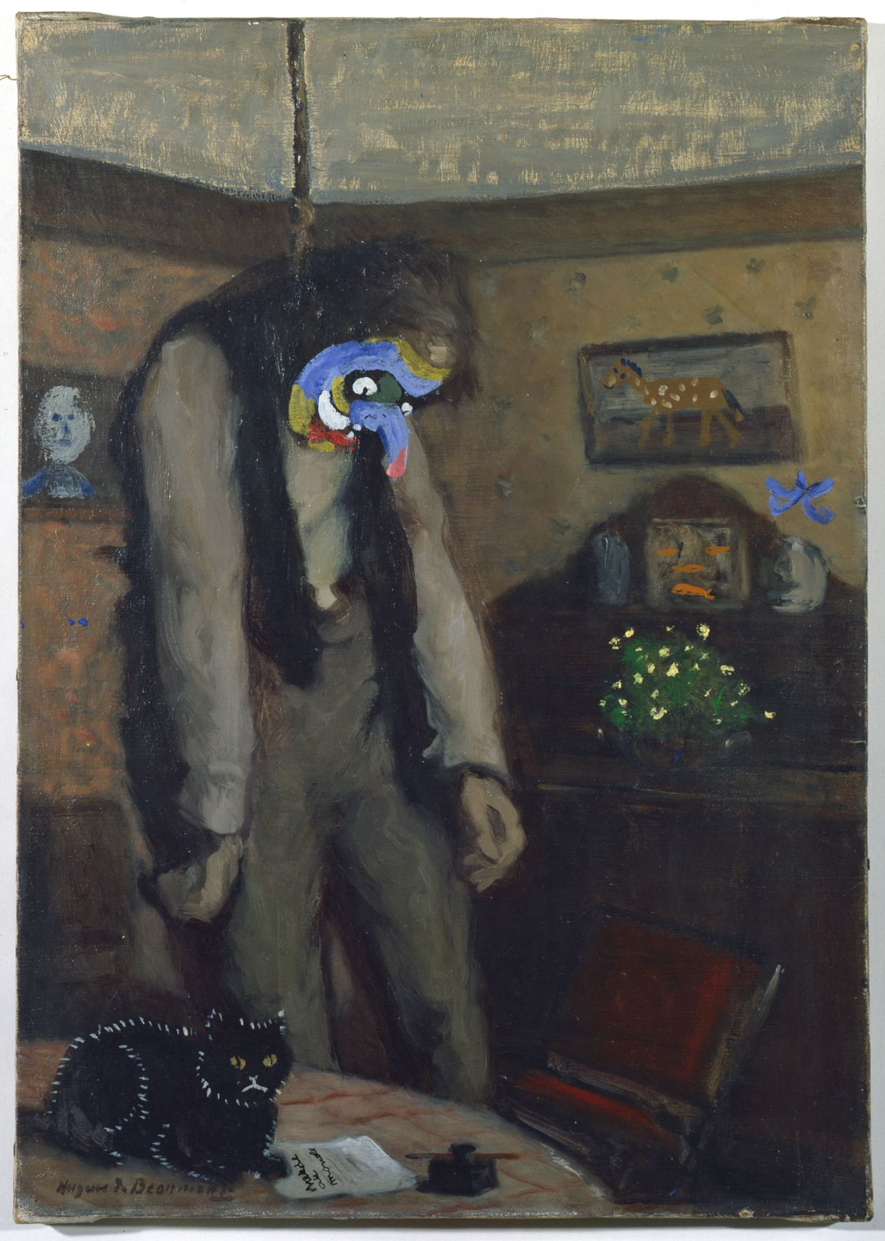 Asger Jorn, Ainsi s'Ensor (Out of this World – after Ensor)