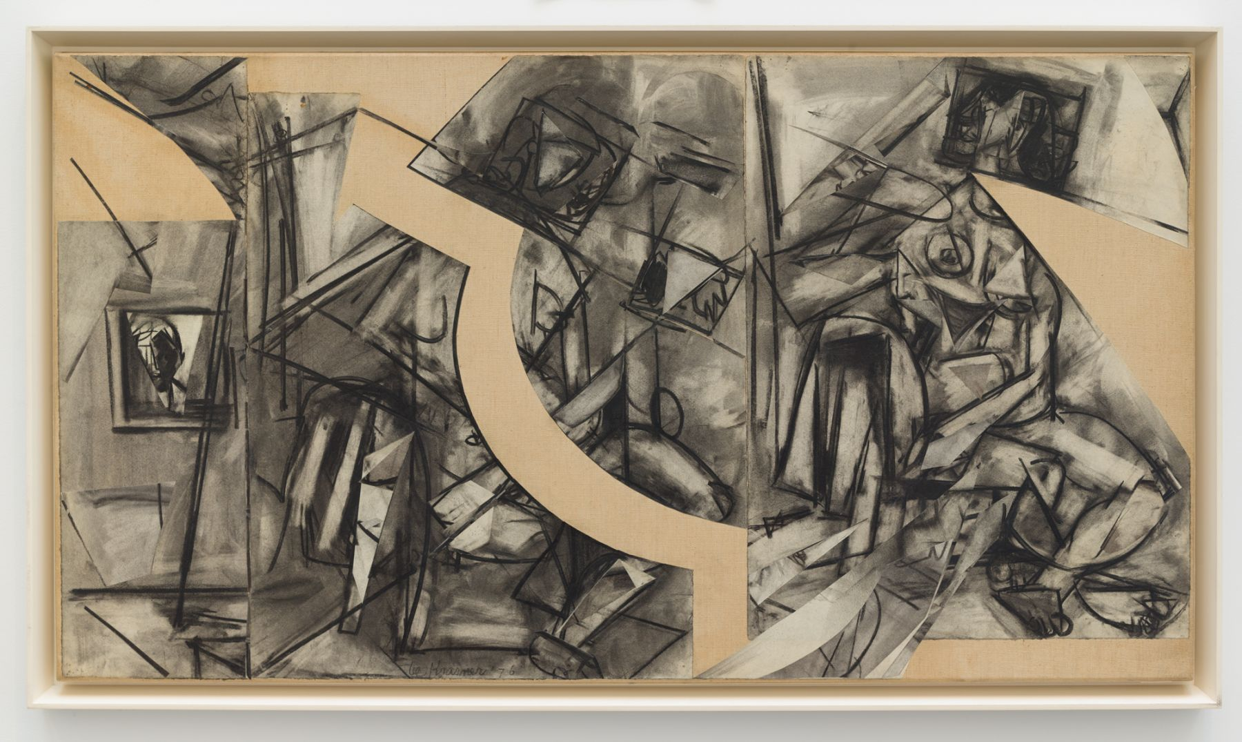 Lee Krasner, Past Conditional