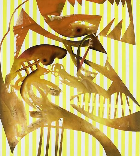 Orpheus 2008 Acrylic on linen