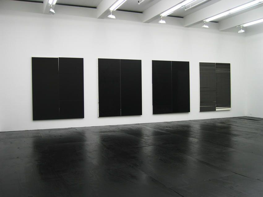 Wade Guyton Installation view