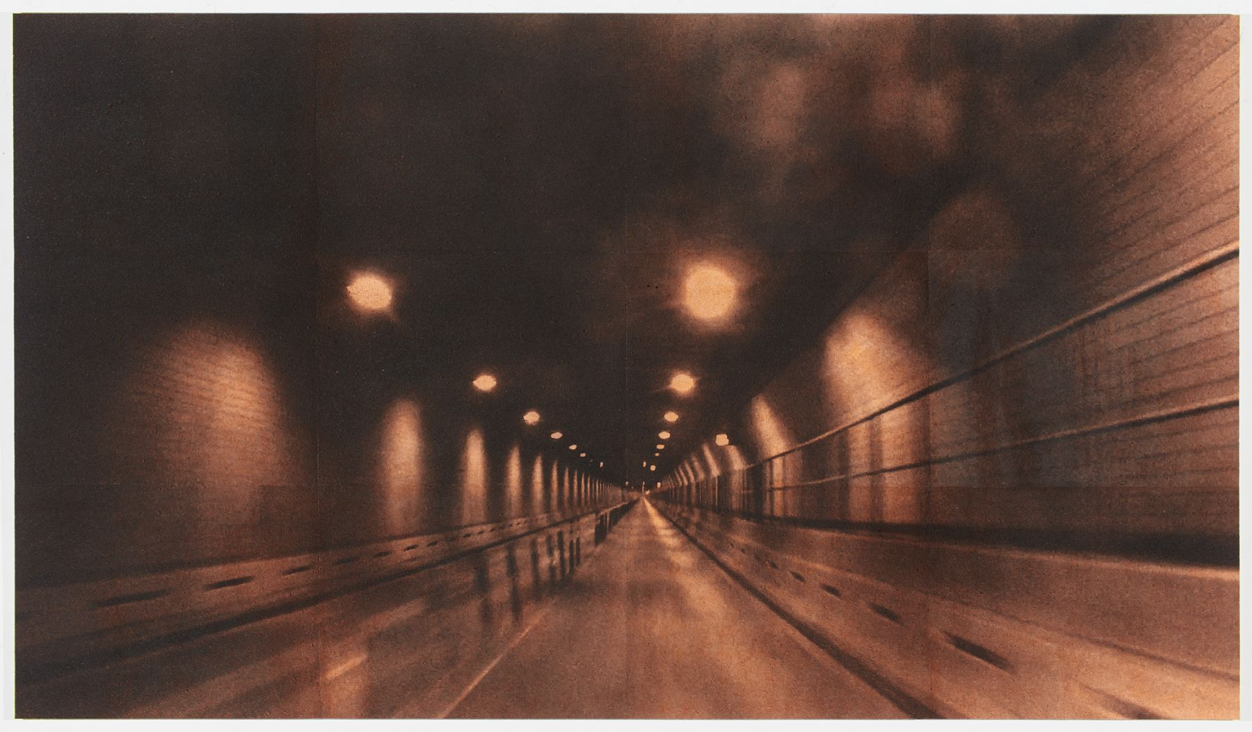 Adam McEwen, Battery Tunnel (Orange)