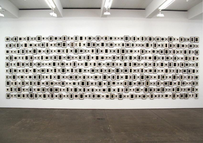 Allan McCollum Collection of  480 Plaster Surrogates