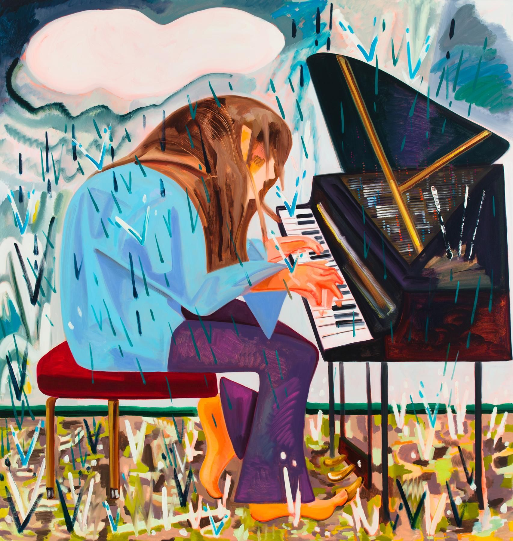 Piano in the Rain