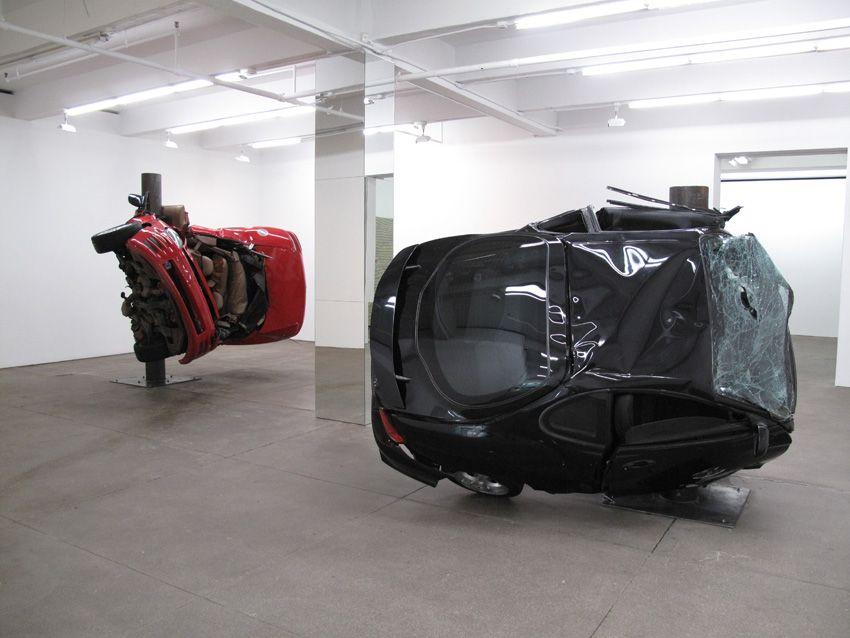 Dirk Skreber Installation view