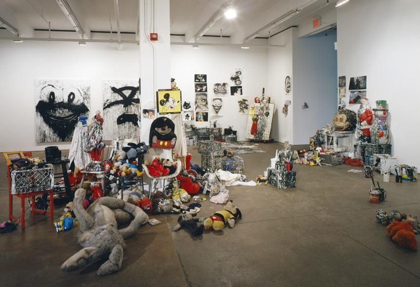 Installation view Batman Returns