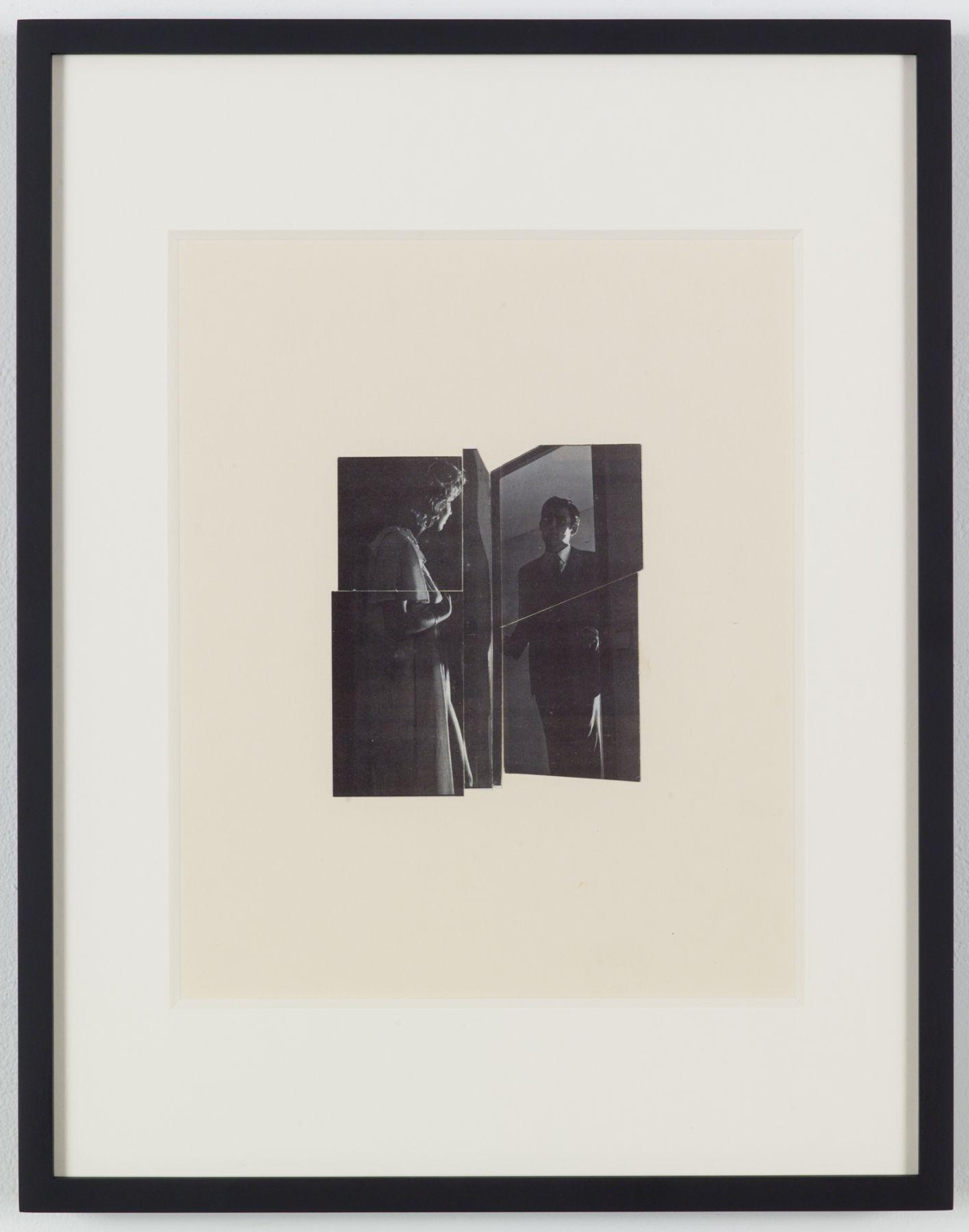 John Stezaker, Mirror Door (Photoroman)