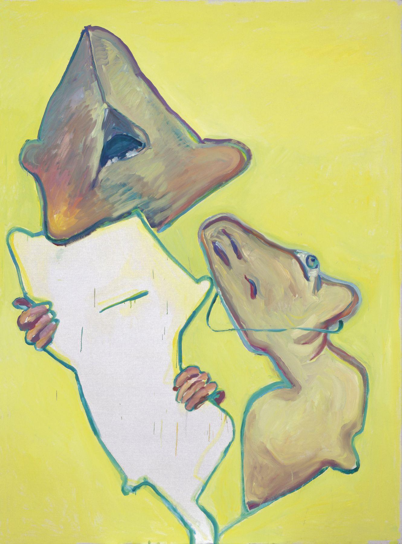 Maria Lassnig, Die Bewunderung